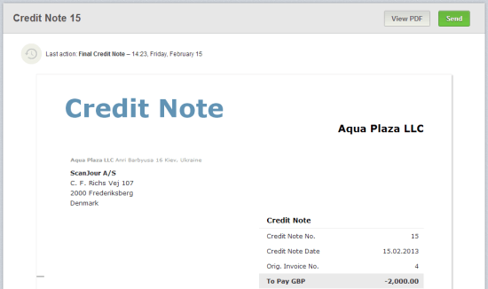 Credit Note and Debit Note Free ZIMSEC Revision Notes and Past – Debit Note and Invoice